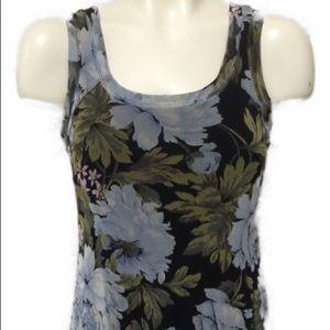 Karen Kane Floral Tank Dress Size Medium